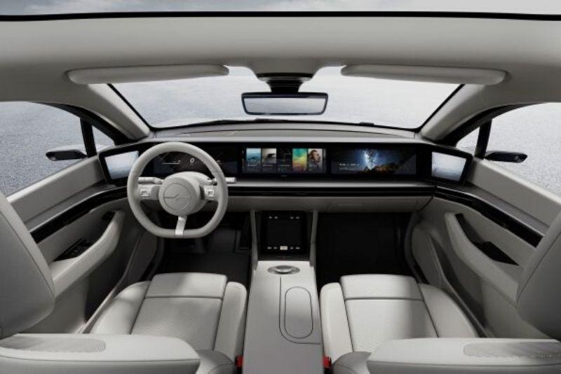 Sony Vision S interior
