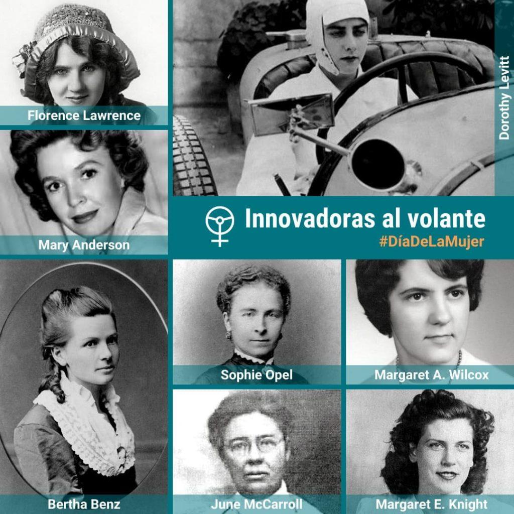mujeres en la historia del coche