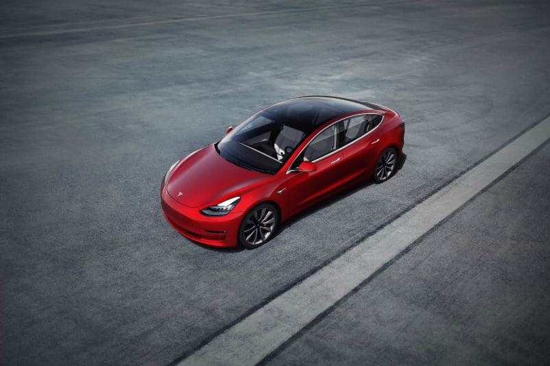 Tesla Model 3 - mejores coches 2020