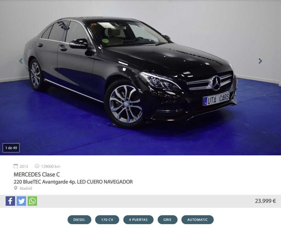 Anuncio Mercedes Clase C