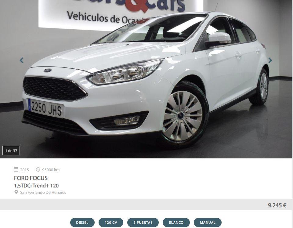 Ford Focus - anuncios de coches de ocasión
