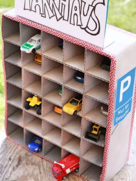 ideas originales para ordenar los coches de juguete