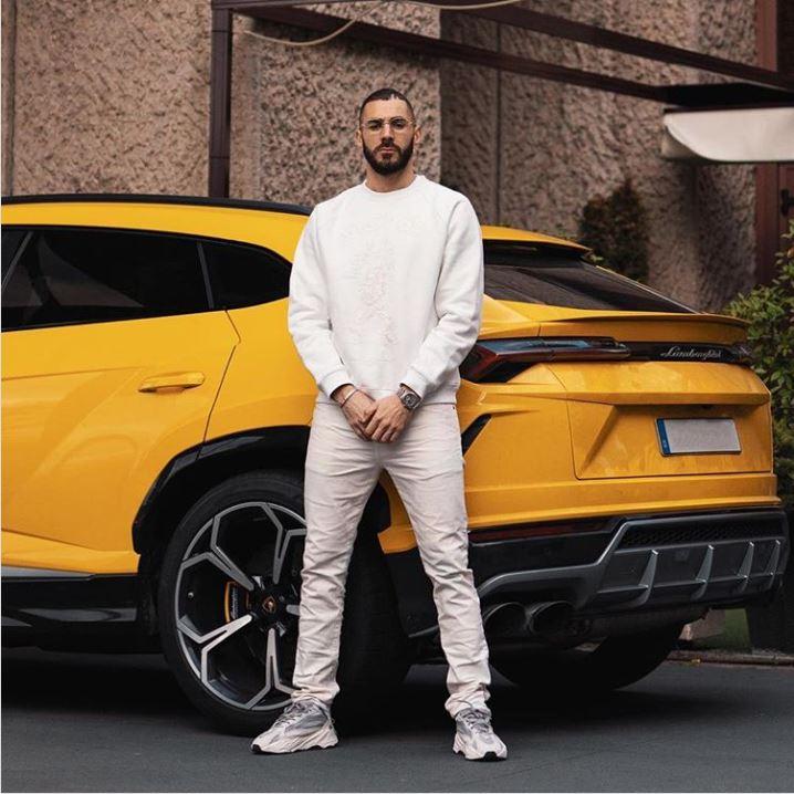 Los coches de Benzema
