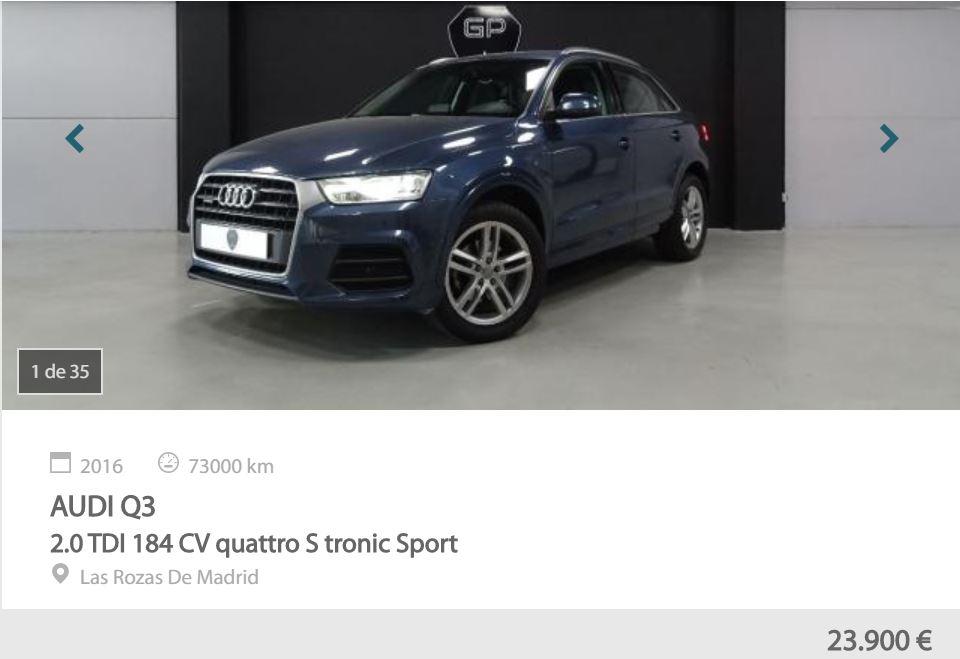 mejores SUV de Motoreto - Audi Q3