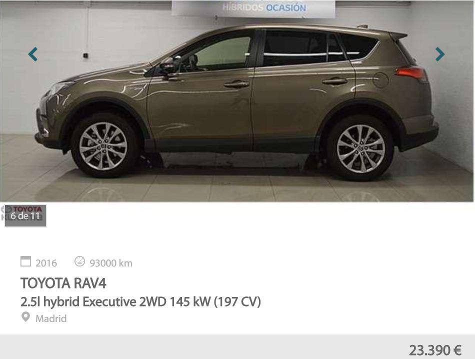 mejores SUV de Motoreto Toyota RAV4