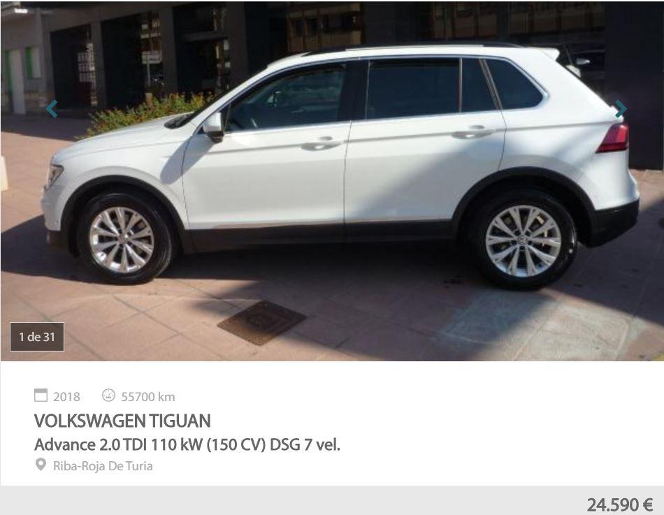 mejores SUV de motoreto VW Tiguan