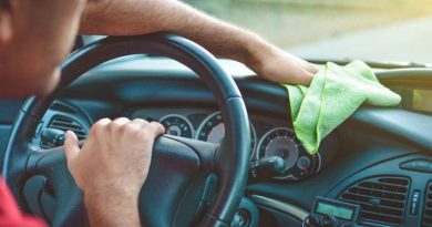 limpiar el coche por dentro
