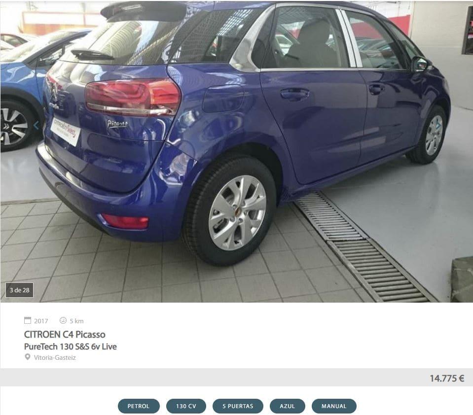 Mejores monovolúmenes de Motoreto - Citroën C4 Picasso