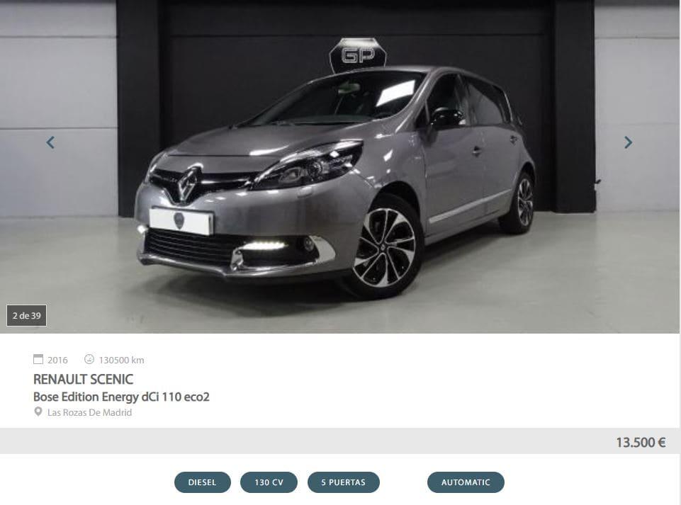 Mejores monovolúmenes de Motoreto - Renault Scenic