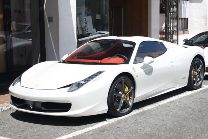 Coches de Nadal: Ferrari 458