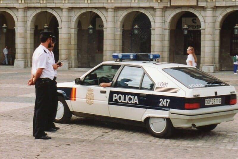 Citroën BX policia