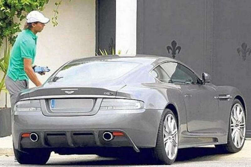 Los coches de Rafa Nadal: Aston Martin DBS