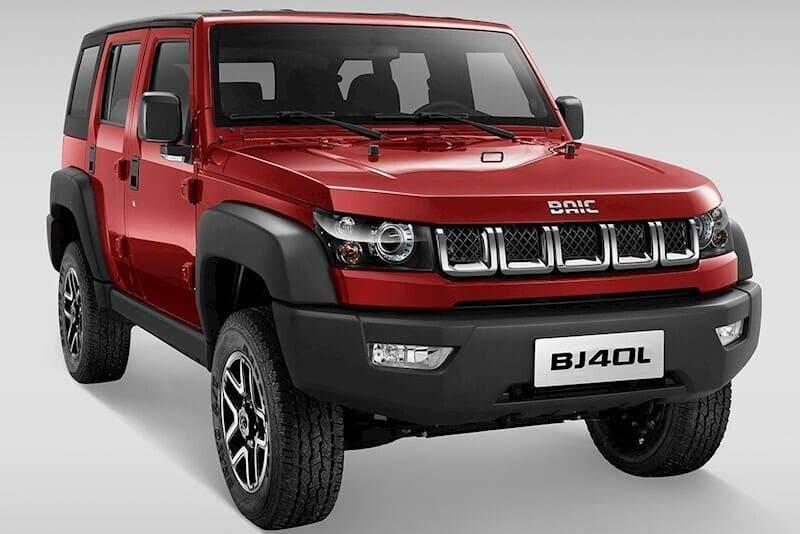 coches chinos: Baic BJ40
