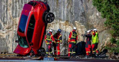 car crash de volvo