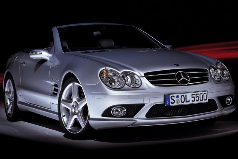 Los coches de Rafa Nadal: Mercedes SL55