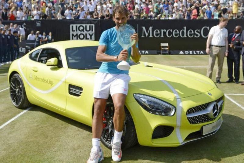 coches de Rafa Nadal: Mercedes GT S