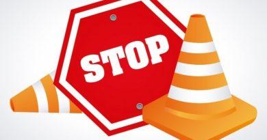 señal stop