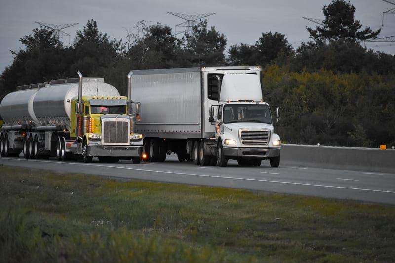 Nuevas normas de tráfico: transportistas