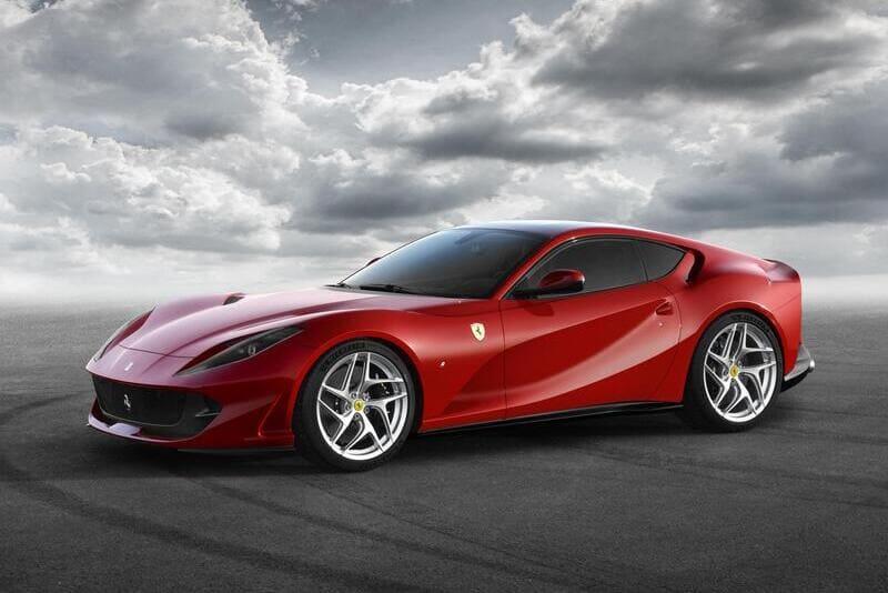 coches de lujo más vendidos: Ferrari 812 superfast