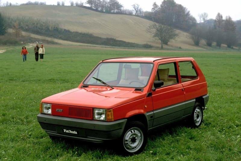 coches clásicos de los 80: fiat panda