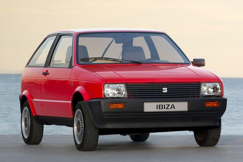 coches clásicos de los 80: seat ibiza