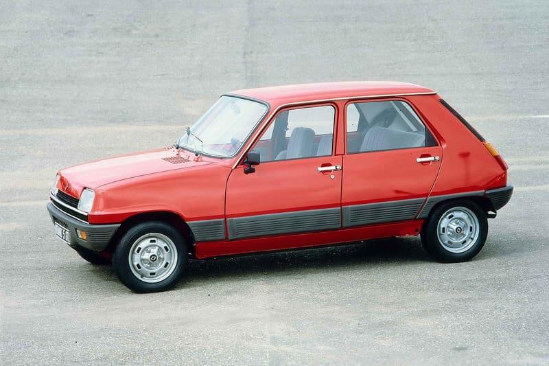 coches clásicos de los 70: Renault 5