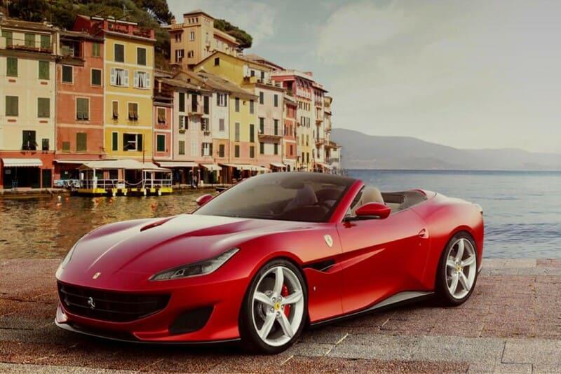 coches de lujo más vendidos: Ferrari Portofino