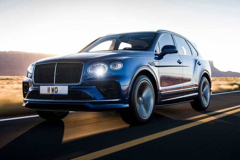 Coches de lujo más vendidos: Bentley Bentayga
