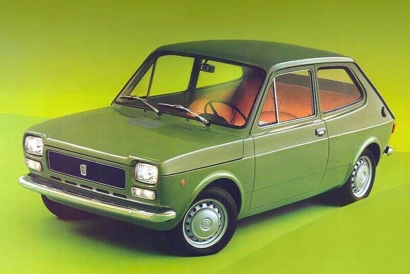coches clásicos de los 70: Seat 127