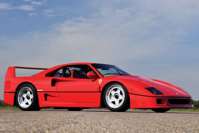 coches clásicos de los 80: Ferrari F40