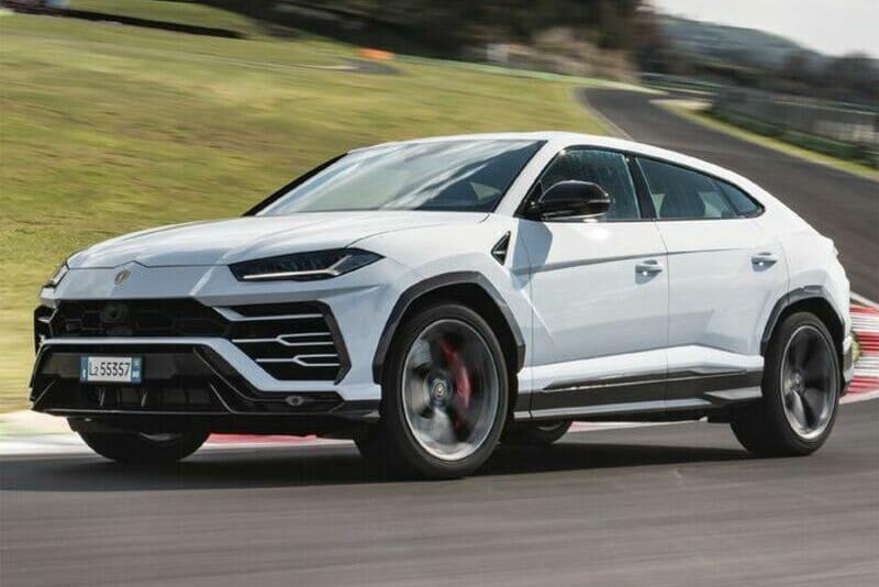 coches de lujo más vendidos: Lamborghini Urus