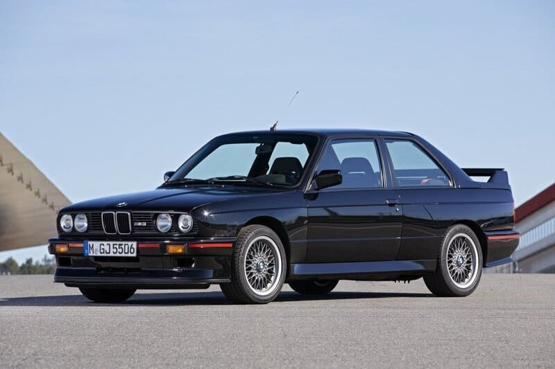 coches clásicos de los 80: bmw m3