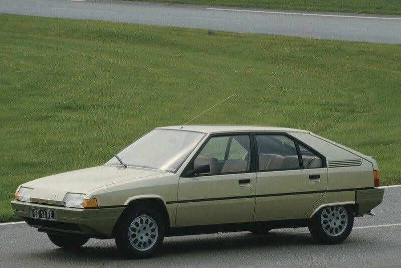 coches clásicos de los 80: citroën bx