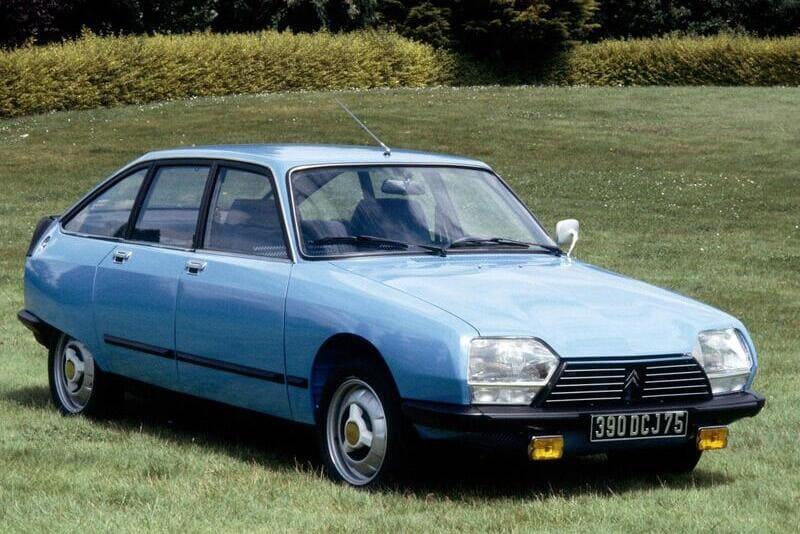 coches clásicos de los 70: citroën GS