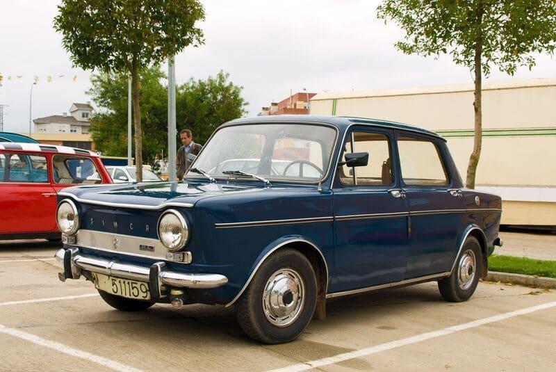 Coches clásicos de los 60: Simca 1000