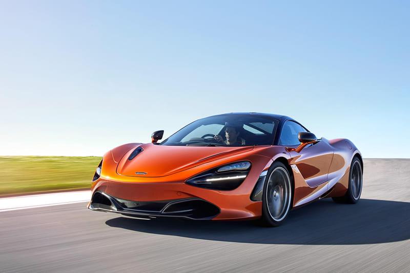 coches de lujo más vendidos: McLaren 720S