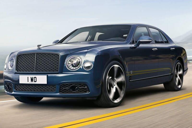 coches de lujo más vendidos: Bentley Mulsanne