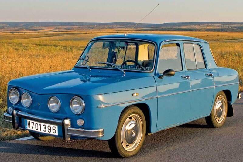 Coches clásicos de los 60: Renault 8