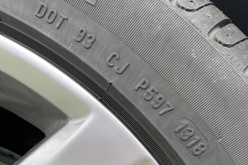 fecha de fabricación de los neumáticos