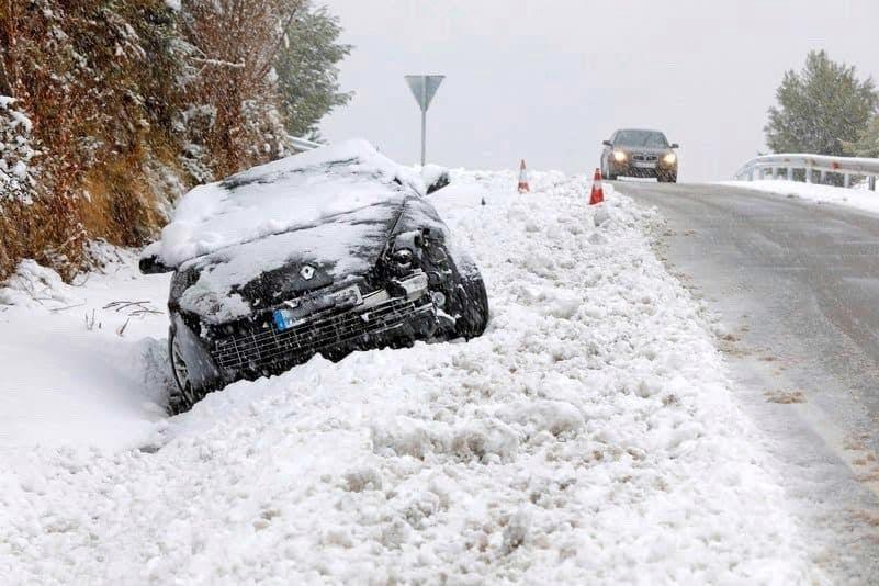 daños del coche por temporal