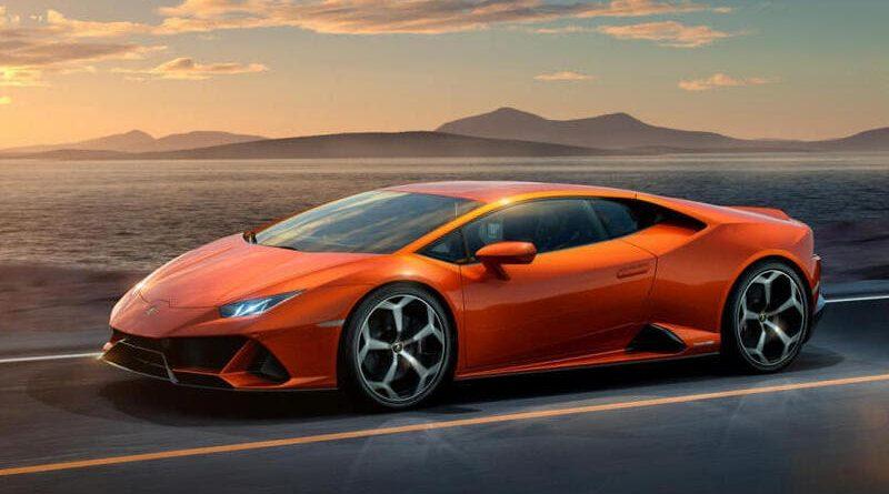 coches de lujo más vendidos : Lamborghini Huracan