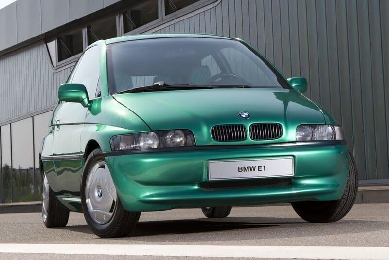 Coches eléctricos BMW E1