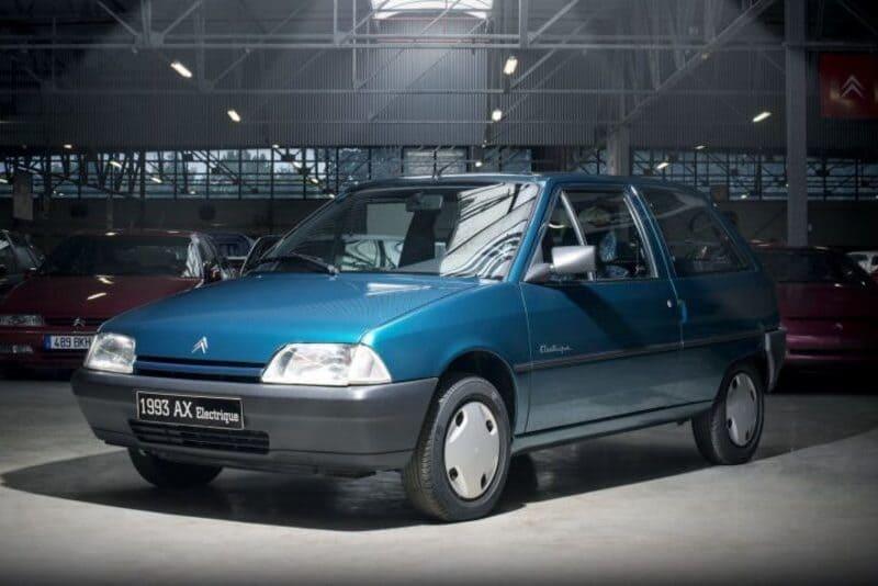 coches eléctricos: Citroën AX Electrique
