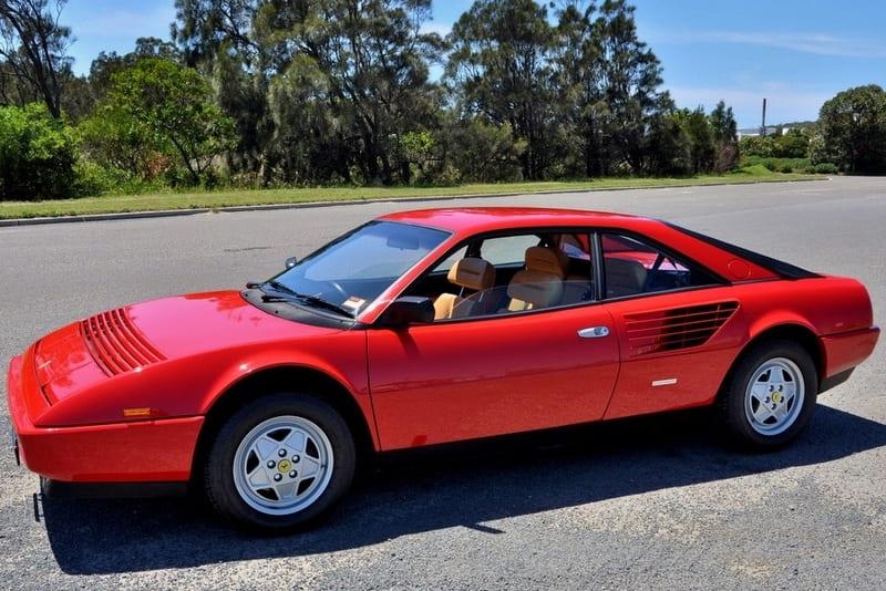 Deportivos más lentos: Ferrari Mondial