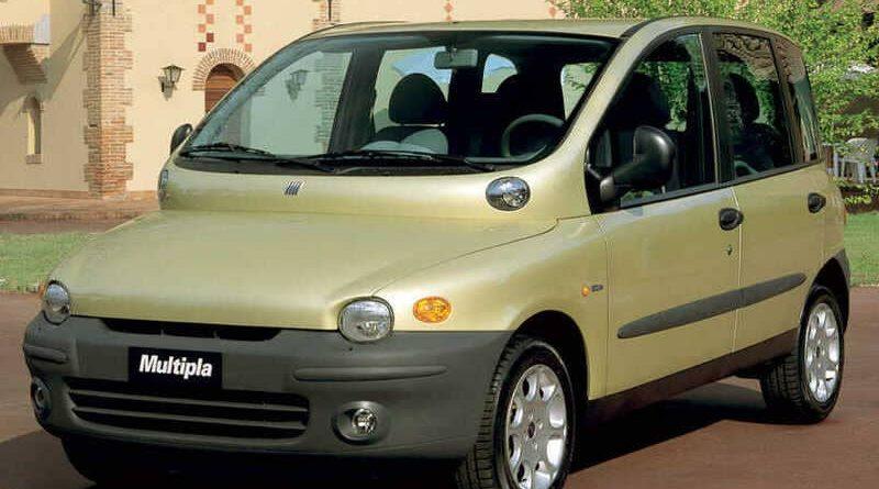 Coches feos: Fiat Multipla