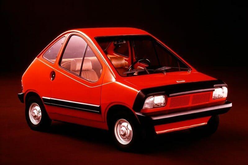 Coches eléctricos: Fiat x1/23