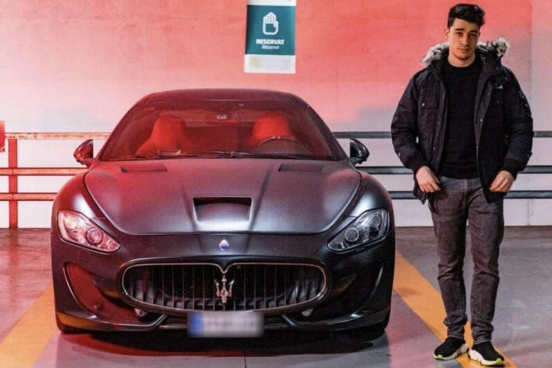 Coches de los youtubers españoles: Maserati Victor Domínguez