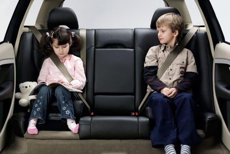 cinturón en niños