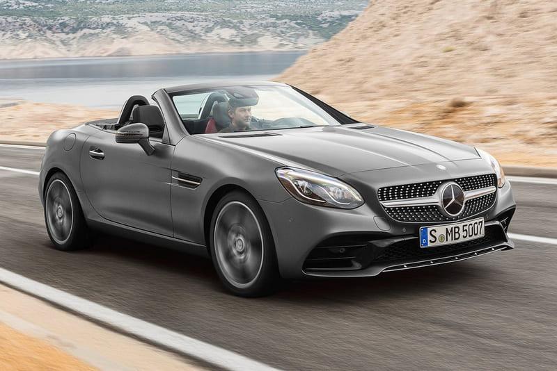 Mejores descapotables - Mercedes-Benz SLC 180