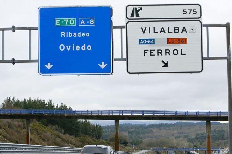 Autovías o carreteras con itinerario europeo